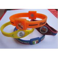 Buy cheap Personalised rubber bracelets nontoxic , smartwatch bluetooth bracelet from wholesalers