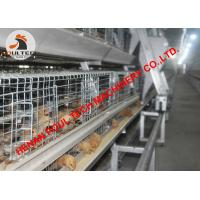 Buy cheap Poultry Farming Hot Galvanized Chicken Cage & Small Chicken Cage & Brooding Chicken Coop with Automatic Feeding System from wholesalers