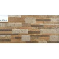 Buy cheap Rustic Ceramic Tile / Ceramic Bathroom Wall Tiles Stone - Like Wall Decoration from wholesalers