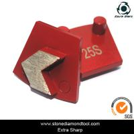 Buy cheap Werkermaster Diamond Metal Floor Grinding Disc Concrete Abrasive Tools with 2 pins from wholesalers