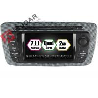 Buy cheap Built - In Mirror Link 6.2 Android Car DVD Player Seat Ibiza Car Stereo Head Unit product