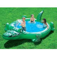 Buy cheap Green EN71 6P Backyard Inflatable Pool Floats / Baby Swimming Pool Tub from wholesalers
