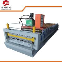 Buy cheap IBR Profile Double Deck Roll Forming Machine Running Stably For Steel Wall Panel from wholesalers