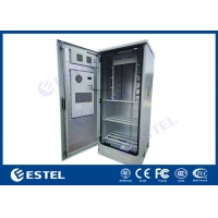 Buy cheap Front Access Steel Thermostatic Outdoor Telecom Cabinet 20U 19 from wholesalers