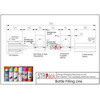 High Performance Bottle Filling Line / Aerosol Paint Can Filling MachineLine