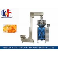 Buy cheap KEFAI Automatic Weighing Sales Chips / Snack Nitrogen Packing Machine For Food from wholesalers
