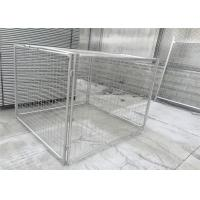 Buy cheap Customized Galvanised Steel Rubbish Cage HDG 14 Microns / 42 Microns from wholesalers