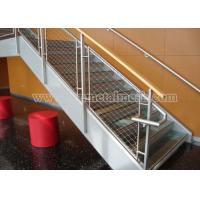 Buy cheap Ferruled X-tend Inox Wire Rope Mesh For Staircase Safety from wholesalers
