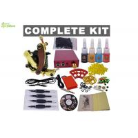 Buy cheap Portable Apprentice / Beginners Tattoo Kit With Latex Tattoo Gloves  , 1 Clip Cord from wholesalers