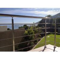 Buy cheap Stainless Steel Cable Guardrail System Solid Rod Bar Railing Balustrade product