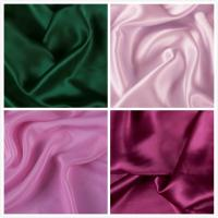 Buy cheap Luxury Feeling 100 Pure Silk Satin Fabric with 16mm from wholesalers
