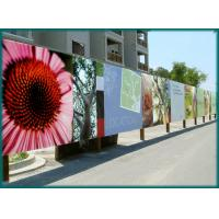 Buy cheap High speed colorful Vinyl Banner Printing , 4 colour digital flex banner printing from wholesalers