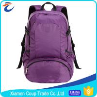 Buy cheap Customized Colors Nylon Sports Bag , Light Travel Backpack For Women from wholesalers