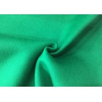 Buy cheap Pure Green Double Layer Fabric , Wool Felt Fabric Various Design Comforcable from wholesalers
