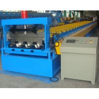Buy cheap 0.6-1.5mm Steel Ribbed Panel Floor Decking Cold Roll Forming Machine & Equipment from wholesalers