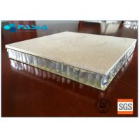 Buy cheap Marble Stone Honeycomb Roof Panels 1200mm Width / Length Sound Insulation from wholesalers
