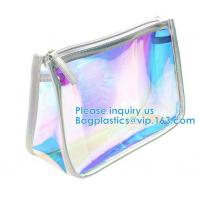 Buy cheap Travel Pouch, Manufacture Clear PVC Zipper Puller Cosmetic Bag,Holographic Travel Pouch Cosmetic Bag Envelope Clutch Bag from wholesalers