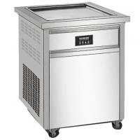 Buy cheap Full - Auto Commercial Fridge Freezer Square Pan Thailand Style Roll Fry Ice Cream from wholesalers
