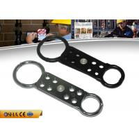 Buy cheap ZC-K61 Double End Aluminum Lockout Hasp , 38 mm Head Shackle Lockout Tagout Hasp from wholesalers