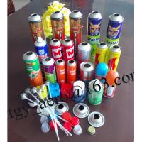 Buy cheap 45/52/57/65mm DOT2P 2Q empty aerosol spray can air freshener can insecticide can from wholesalers