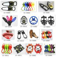 Buy cheap Winter ice gripper ice grips, shoe ice grippers,snow shoe cleats,over shoe studed ice grip from wholesalers