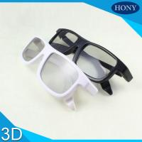 Buy cheap Cinema Reald Volfoni System Use Circular Polarized 3D Glasses Black Blue White Frame from wholesalers