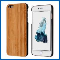 Buy cheap 4.7 Inch Real Handmade Natural Wood Bamboo Cell Phone Case For Iphone 6 from wholesalers