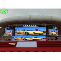 Buy cheap P4.8mm Rental LED Display Outdoor Stage Backgroud Large Led Screen Hire from wholesalers