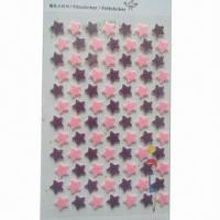 Buy cheap Die-cut Adhesive Felt Sticker with Silkscreen Printing from wholesalers