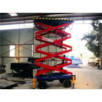 Buy cheap 6 meters hydraulic lifting equipment with motorized device , 500Kg loading from wholesalers
