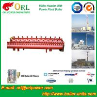 Buy cheap Electrical Water Boiler Header Manifolds High Pressure , Heating Manifold Systems from wholesalers