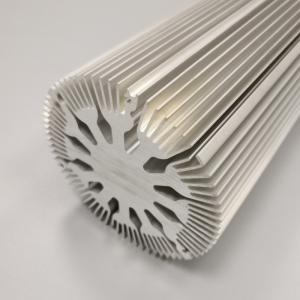 Buy cheap Round Aluminum Radiator Sunflower Aluminum Heatsink For Led Light product