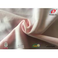 Buy cheap Oeko Tex 100 rayon pink color nylon spandex fabric for fashion Lingerie from wholesalers