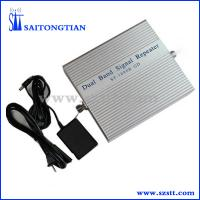 Buy cheap Dual band signal repeater/mobile signal booster GSM900/3G2100 ST-92B from wholesalers