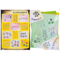 Buy cheap DIY slider charms, alphabets slider charms from wholesalers
