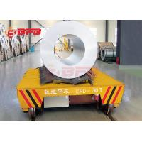 Buy cheap 40t Indsustry Handling Electric Forklift Battery Transfer Cart Transport Coils from wholesalers