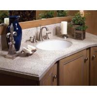 Man made stone bathroom vanity tops 90742088 for Man made bathroom countertops