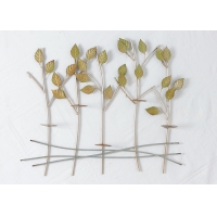 Buy cheap Living Room Float Metal Wall Art Tree Wall Sconce from wholesalers