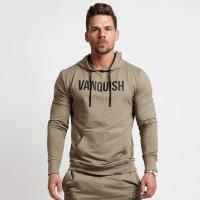 Buy cheap Daily Wear Mens Designer Hoodies , Mens Pullover Hoodie 100% Cotton Material from wholesalers