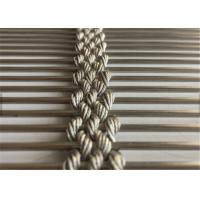 Buy cheap Stainless Steel Architectural Wire Mesh Facade, Decorative Cable Rope Wire Mesh from wholesalers