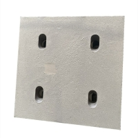 Buy cheap 63HRC four-hole hook plate Wear Plates for cement mill product