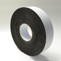 Buy cheap Black Rubber Die Cut Adhesive Tape Backed Foam For Heat / Sound Insulation from wholesalers