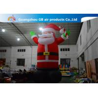 Buy cheap Hot Selling Outdoor Giant Inflatable Santa Claus  Christmas Yard Decorations product