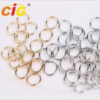 Buy cheap Snap Clasp Hook Nickle Plated Garments Accessories Lobster Claw Swivel Clasps from wholesalers