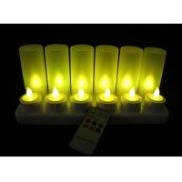 Buy cheap remote Rechargeable tea light candles Set of 12PCS /led  Candle from wholesalers