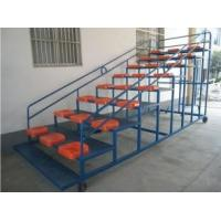 Buy cheap Movable Aluminum Portable Indoor Bleachers Hard Welding With Armrest from wholesalers