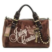 Buy cheap Juicy Couture Queen Velour Madge Bag Coffee from wholesalers