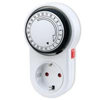 Buy cheap Indoor Germany / European 24 hour Mechanical Timer Digital Light Timer for Greenhouse from wholesalers