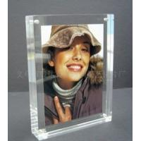 Buy cheap Eco-friendly Durable Acrylic Photo Frames Clear 10mm / 15mm / 18mm With Magnet from wholesalers