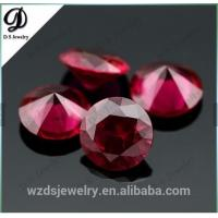 Buy cheap Synthetic corundum rough/Synthetic ruby red corundum from wholesalers